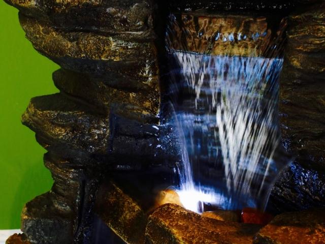 Rear Fountain