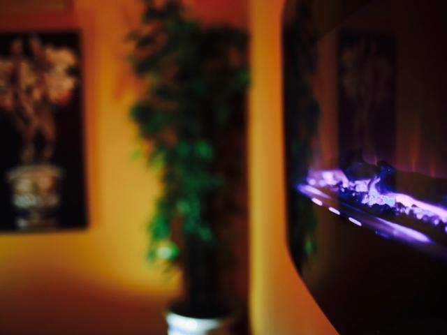 Thai Room Fireplace